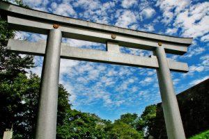 Silver Torii Gate